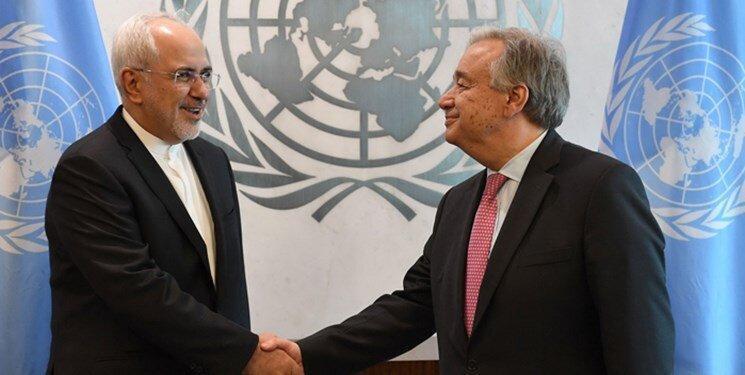ارتباط بی سابقه با دبیرکل سازمان ملل ، جزئیات 2 تماس مهم تلفنی ظریف و گوترش در 24 ساعت