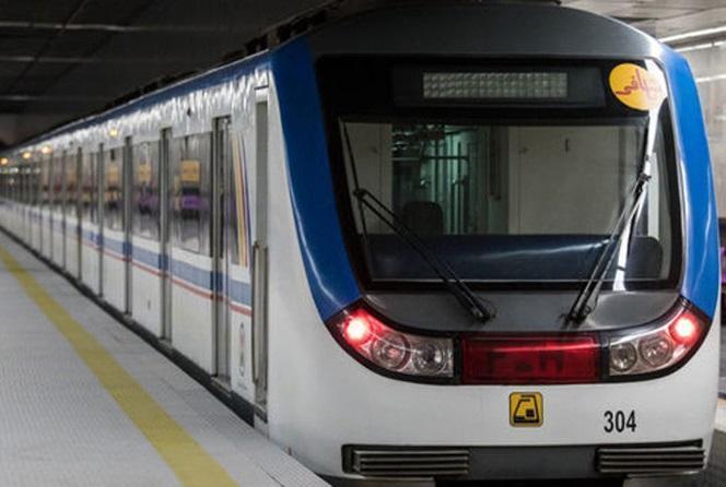 سرفاصله حرکت قطار ها در خط دو مترو تهران کاهش یافت