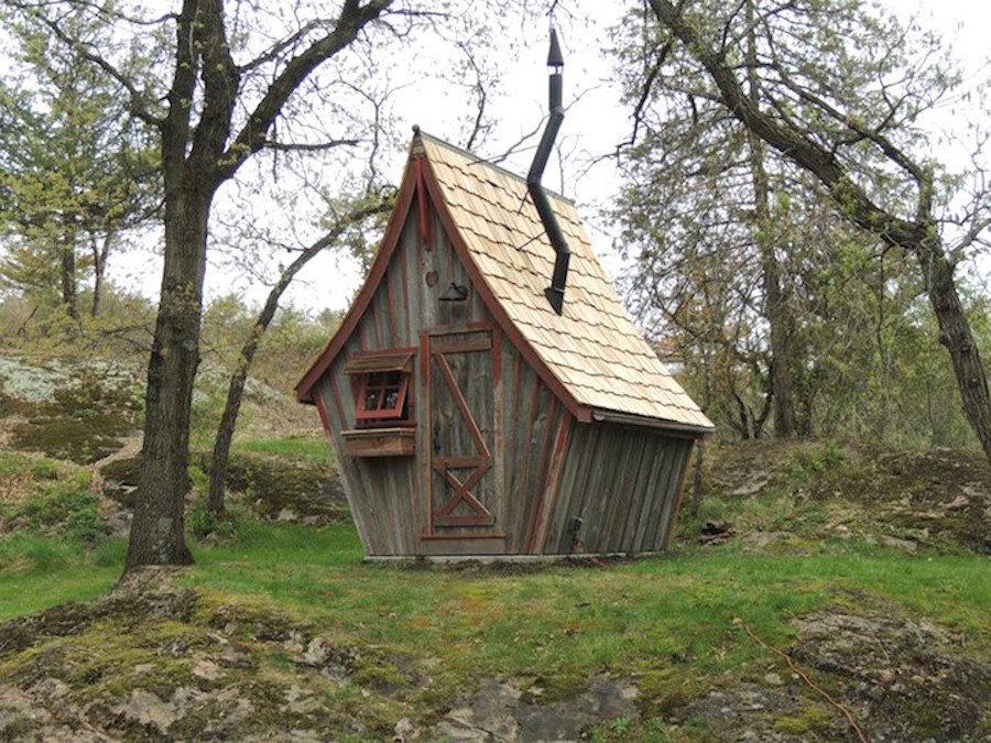 کلبه های زیبای چوبی - دیگر حس اولیه برآمده از آنها کوچکی یا محقر بودن نیست