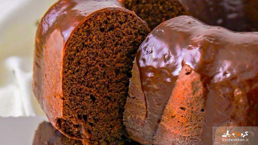 طرز تهیه کیک موس شکلاتی ویژه