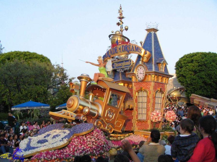 پارک تفریحی دیزنی لند : معرفی پارک تفریحی دیزنی لند کالیفرنیا