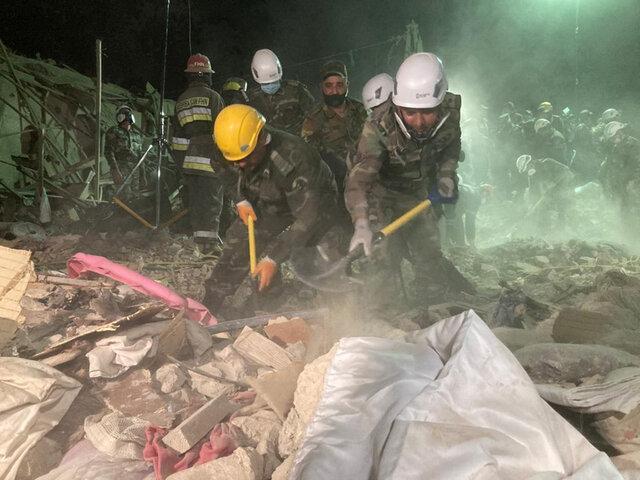 کشته شدن 13 غیرنظامی در حمله موشکی به 2 شهر جمهوری آذربایجان