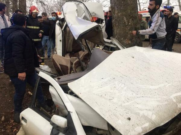 واژگونی خودرو در محور گرگان-کردکوی 3 کشته برجا گذاشت