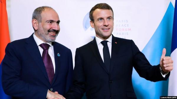 حمایت فرانسه از ارمنستان در برابر جمهوری آذربایجان