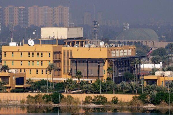فعال شدن آژیر خطر سفارت آمریکا در بغداد